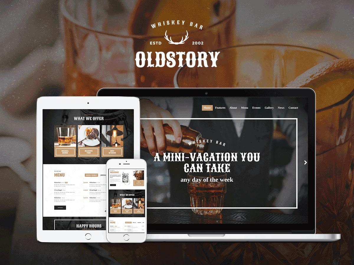 OldStory WordPress theme