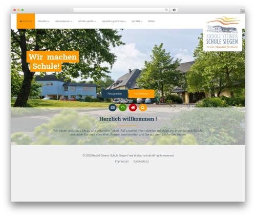 Opal by Bluthemes theme WordPress - waldorfschule-siegen.de