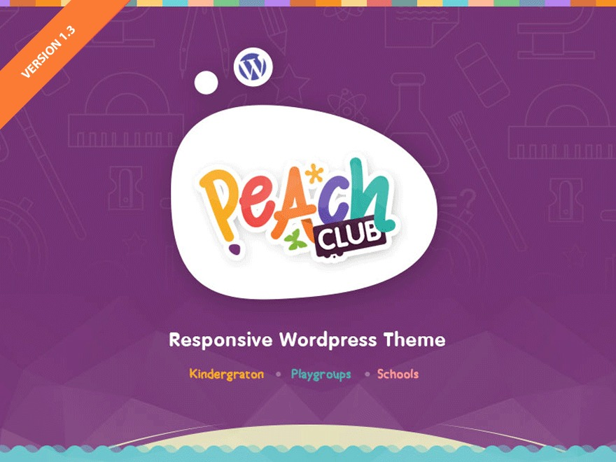 Peachclub WordPress template for business