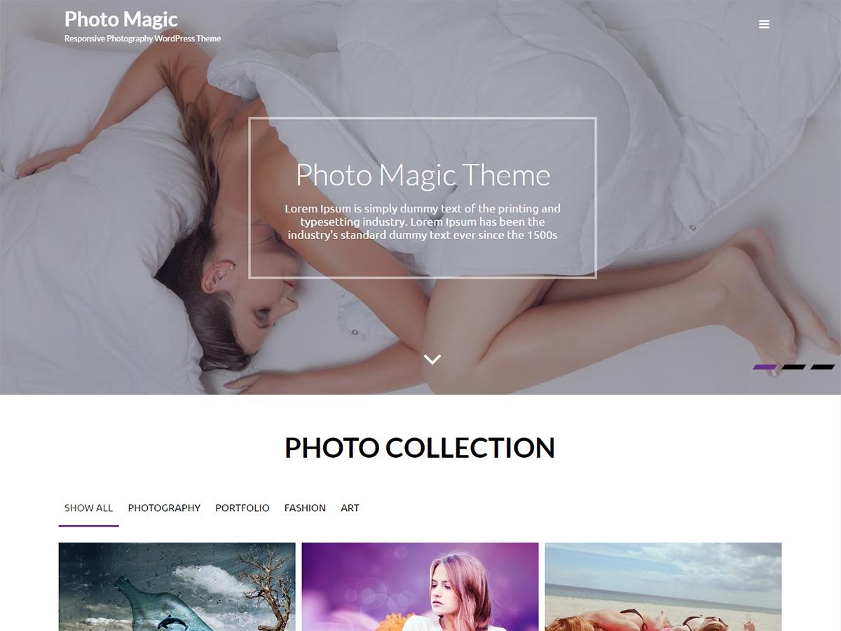 Photo Magic WordPress theme image