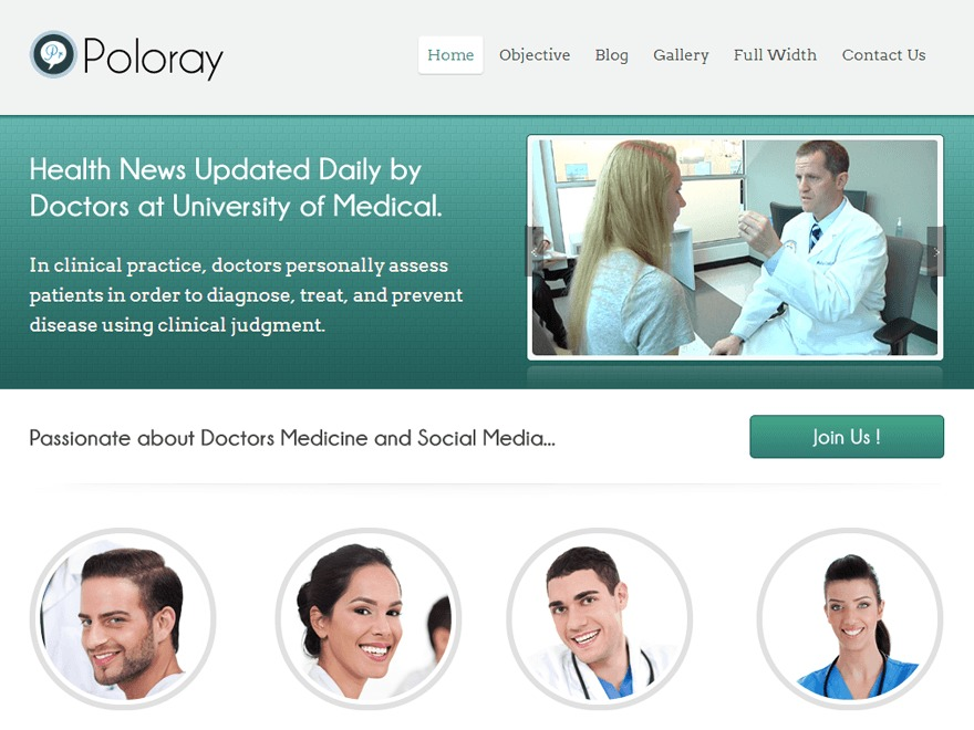 Poloray  Pro Responsive Theme wallpapers WordPress theme