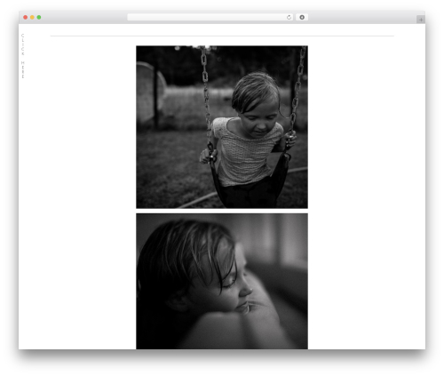 ProPhoto WordPress template for photographers - winterwheatphotography.com