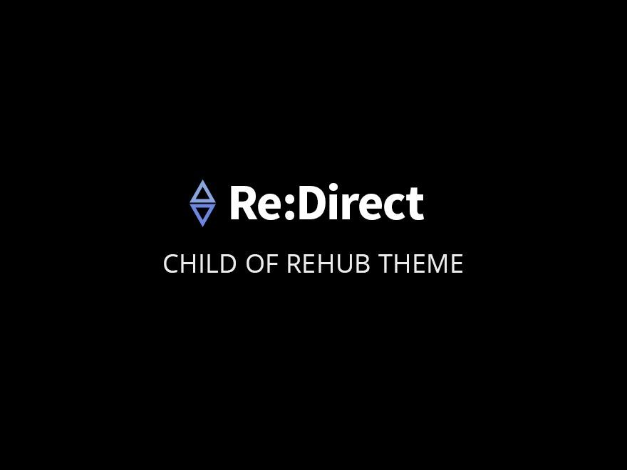 Rehub child theme - Redirect WordPress news template