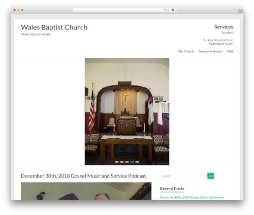 Free WordPress WP-EMail plugin - walesbaptistchurch.org