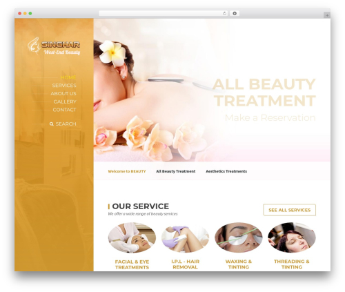 Theme WordPress BeautySpot - westend-beautyclinic.co.uk