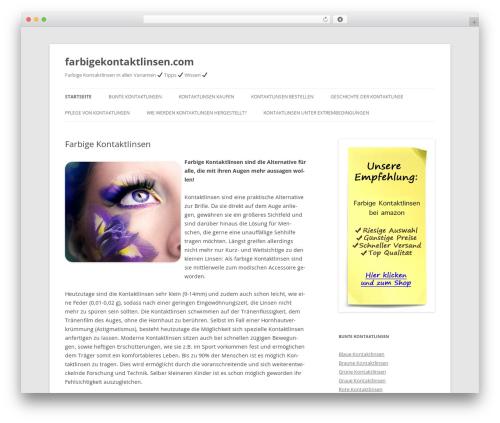 Theme WordPress Twenty Twelve Child - farbigekontaktlinsen.com