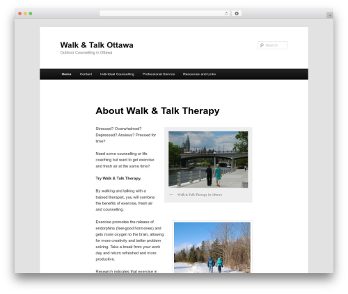 Twenty Eleven WordPress template free download - walkandtalkottawa.ca