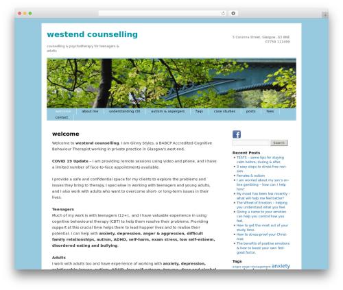 Twenty Ten WordPress theme - westendcounselling.co.uk