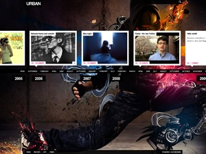 Urban WordPress news theme