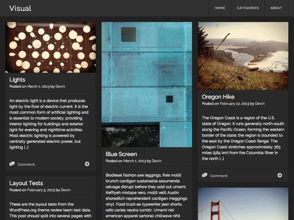 Visual Child theme WordPress