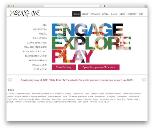 Free WordPress WP-Smooth-Scroll plugin - wangjiemusic.com