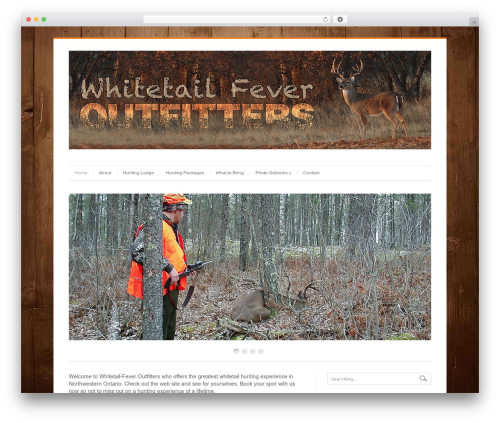 WordPress template Cleanex - whitetailfeveroutfitters.com