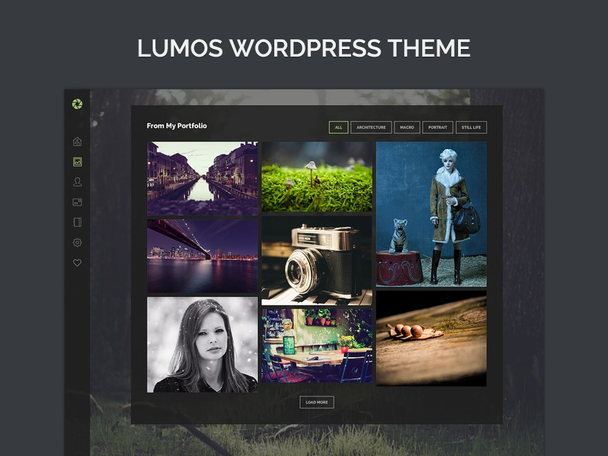 WordPress theme Lumos
