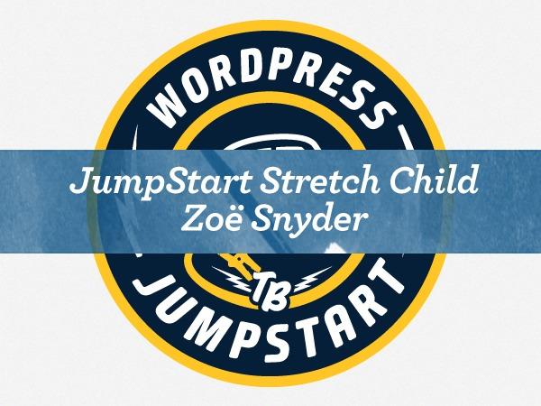 WordPress theme Stretch Starter Child Theme