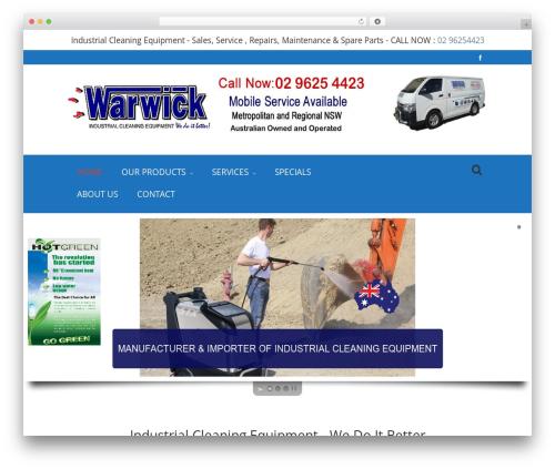 WordPress website template Vizio - warwickaustralia.com.au