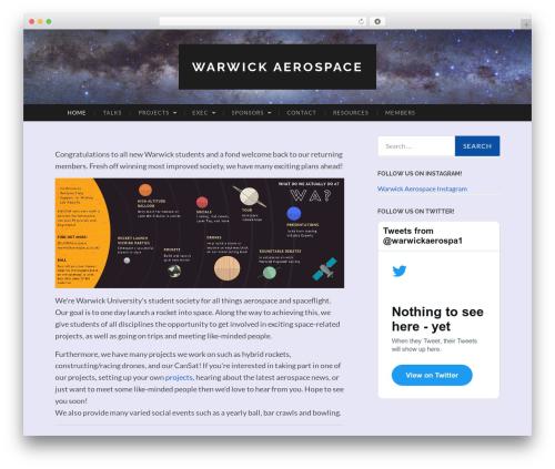 Free WordPress Custom Twitter Feeds plugin - warwickaerospace.co.uk