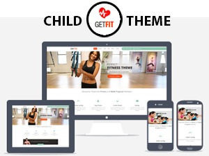 WP theme GetFit Child