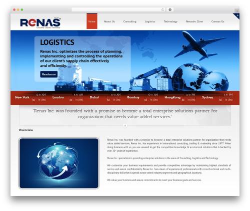 Avada top WordPress theme - renasinc.com