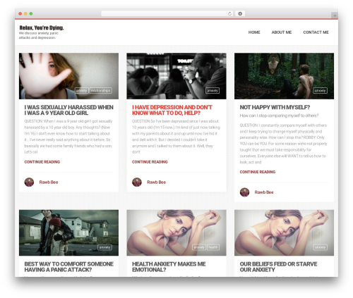 Best WordPress theme LiteMag by Bluthemes - relaxyouredying.com
