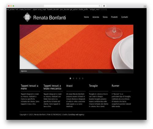 Black Label premium WordPress theme - renatabonfanti.com
