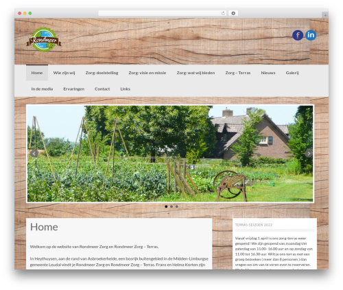 Coller free WordPress theme - rondmeer.nl