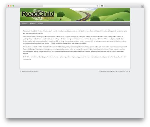 Delicious Child Theme theme WordPress - roadchild.com