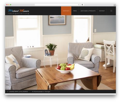 Wonderful Modern Interior Wordpress Theme Images - Simple Design ...