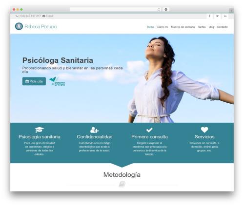 Free WordPress GDPR Cookie Consent plugin - rebecapozuelopsicologa.com