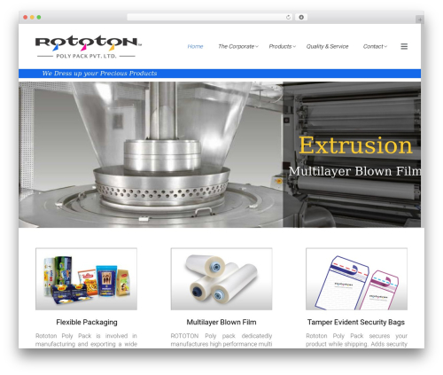 Satellite7 theme WordPress - rototon.in