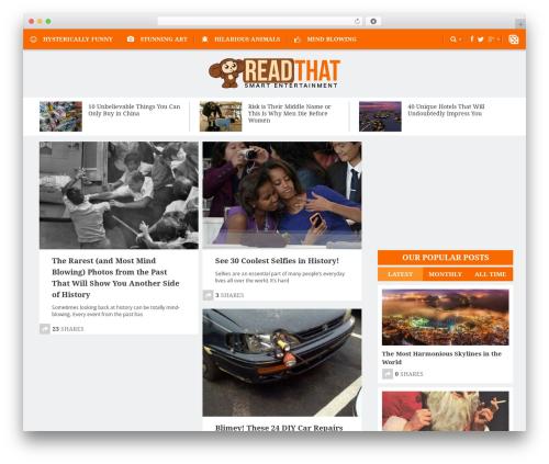 Free WordPress ARVE Advanced Responsive Video Embedder (YouTube, Vimeo, HTML5 Video …) plugin - readthat.com