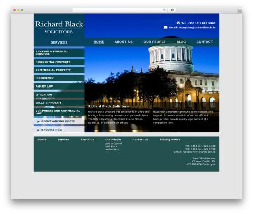 Free WordPress Google Analyticator plugin - richardblack.ie