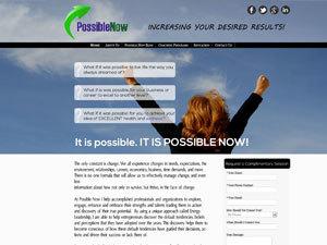 WordPress website template Ron Johnson Child Theme