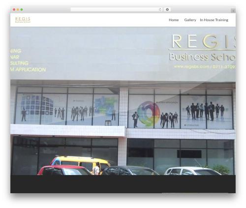 Zerif Lite theme WordPress free - regisbs.com