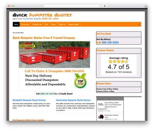 WordPress eliminate-render-blocking-javascript plugin - quickdumpsterquotes.com