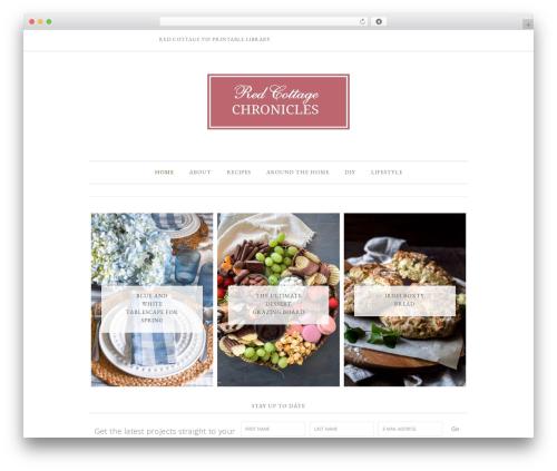 Divine Theme WordPress theme - redcottagechronicles.com