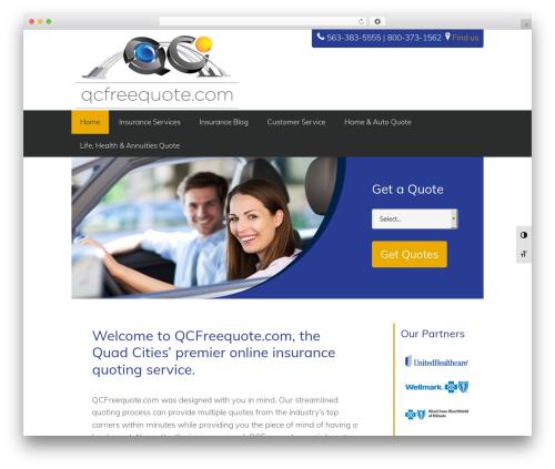 Executive Pro Theme WordPress theme - qcfreequote.com