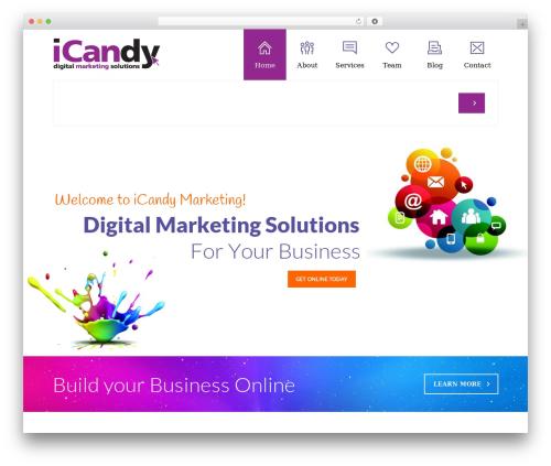 WordPress page-builder plugin - icandymarketing.ie