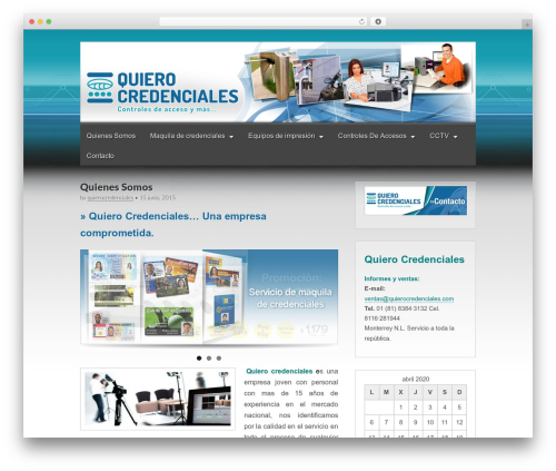 Gridiculous template WordPress free - quierocredenciales.com