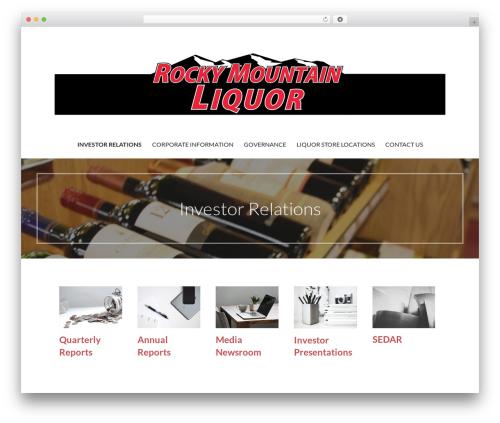 Primer free website theme - ruminvestor.com