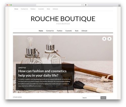 Template WordPress OriginMag - roucheboutique.com.au
