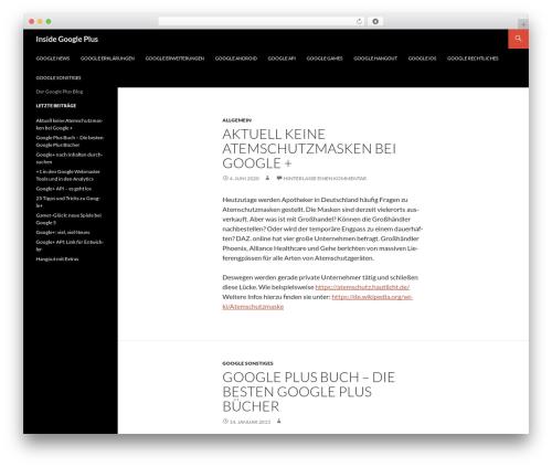 Twenty Fourteen template WordPress free - insidegoogleplus.de