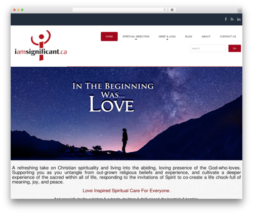 WP theme cherry - iamsignificant.ca