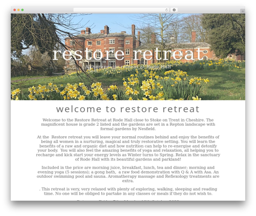 WP theme Divi - restoreretreat.co.uk
