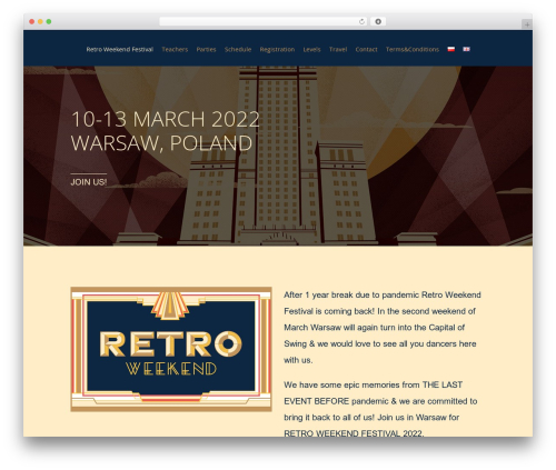 3clicks Theme WordPress theme - retroweekend.pl