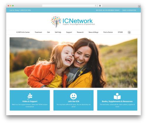 Avada best WordPress theme - ic-network.com