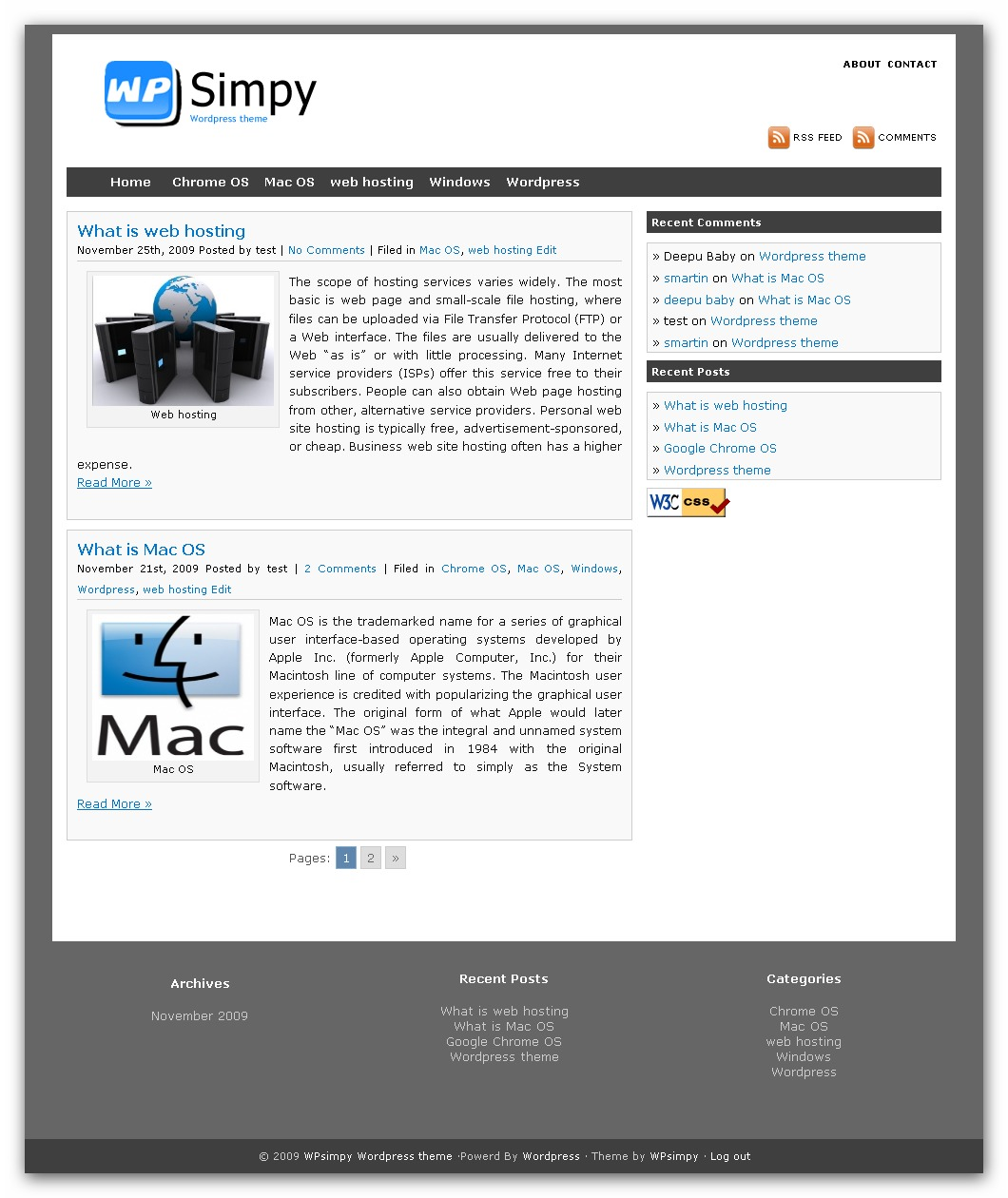 Best WordPress theme WPsimpy WordPress Theme