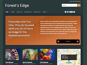 Color Collection: Forest's Edge top WordPress theme