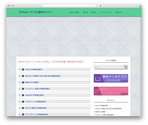Free WordPress PS Auto Sitemap plugin - iphone-howto.jp