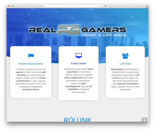 GeneratePress free website theme - realgamers.hu