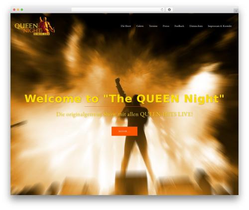 Sydney free WordPress theme - queen-night.de